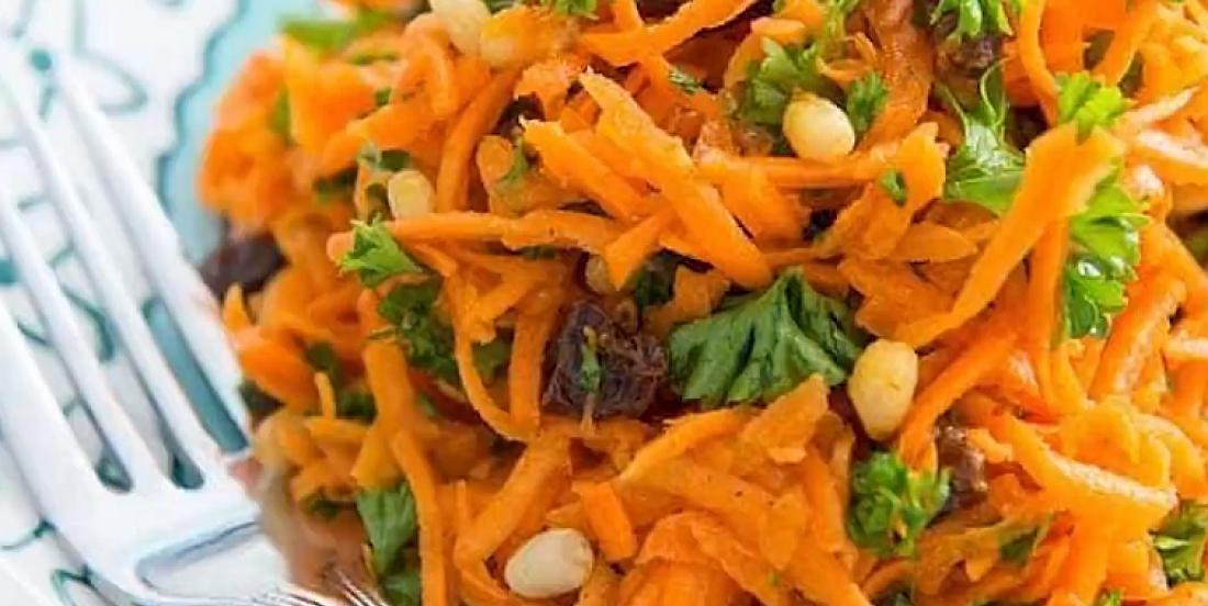 Salade de carottes savoureusement épicée