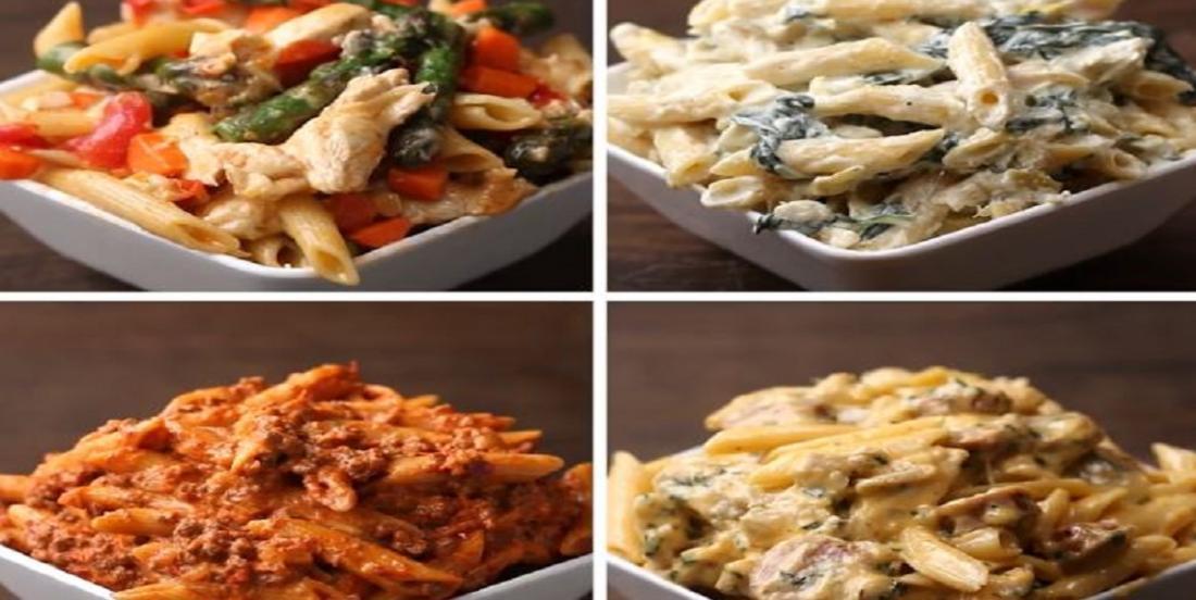 Vos soupers seront toujours réussis grâce à ces 4 recettes de penne