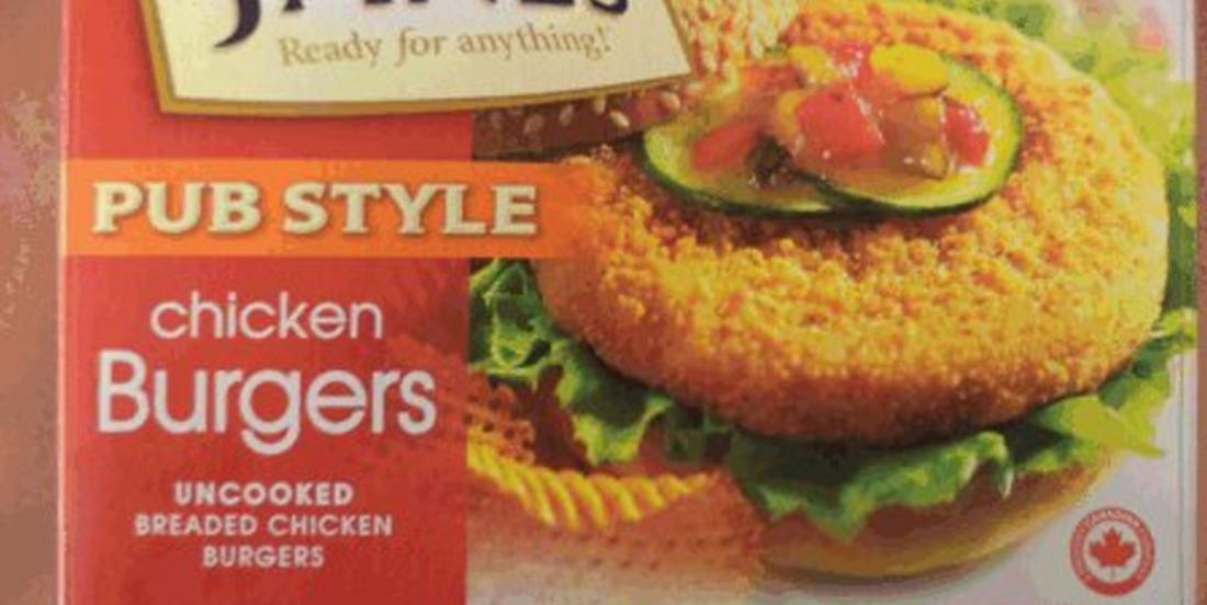Rappel des produits de poulet panés de marque Janes
