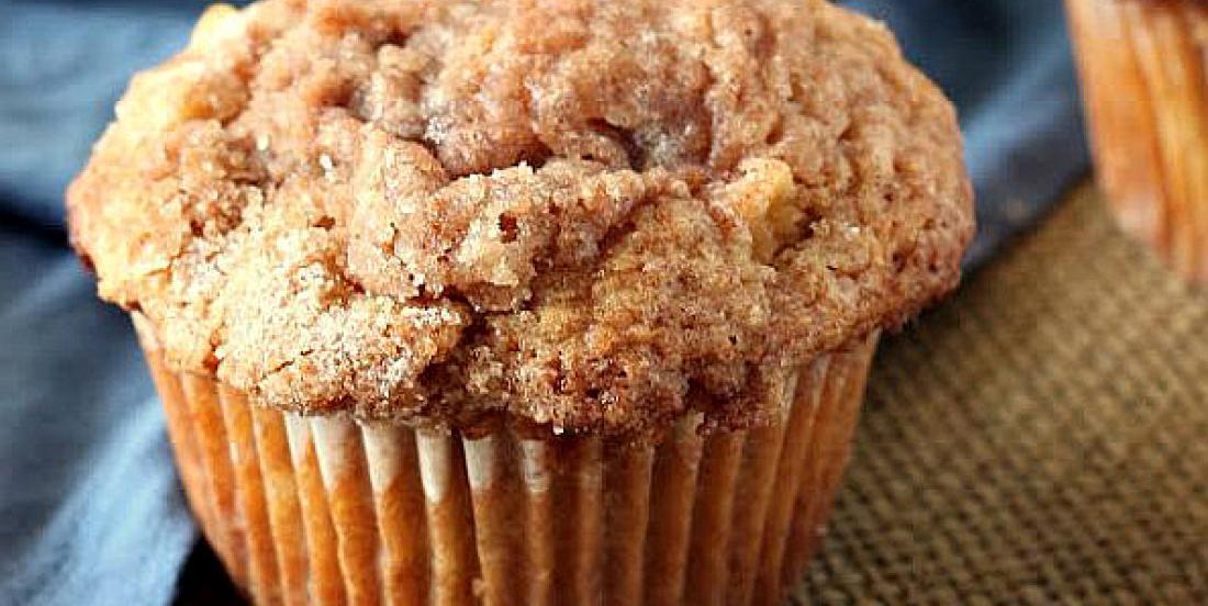 Muffins pomme et cannelle faciles comme tout