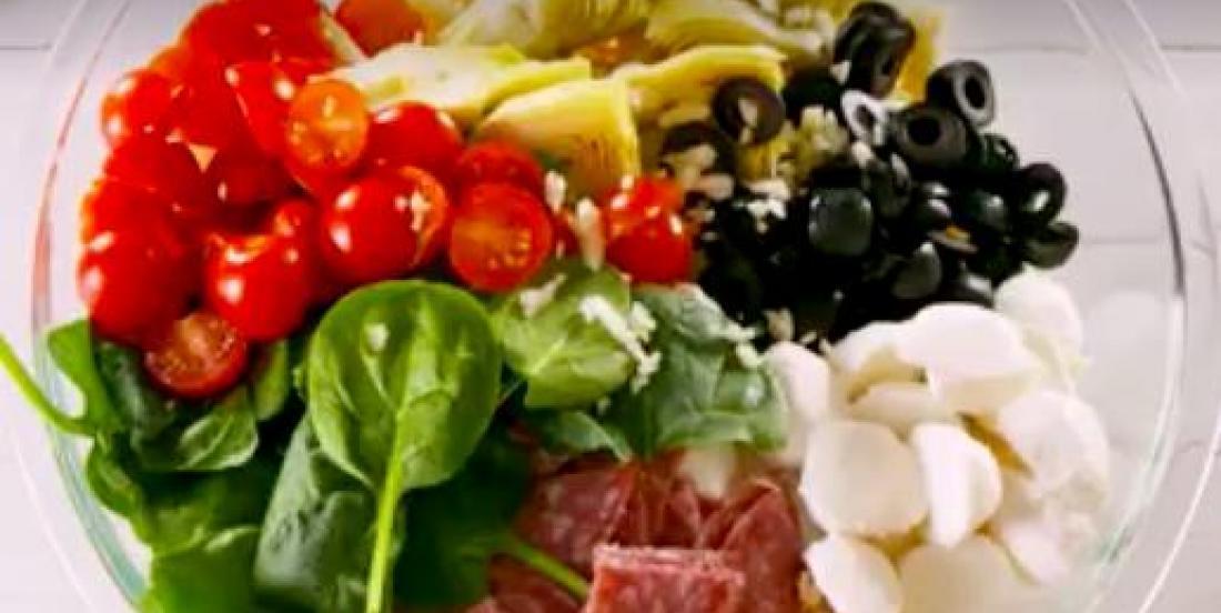 Salade de pâtes à l'italienne parfaite pour l'été!