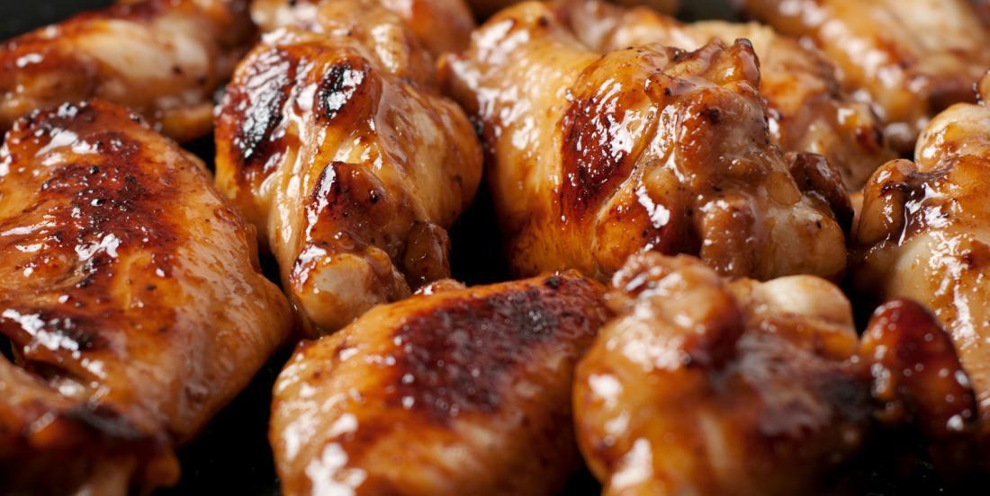 Pilons de poulet cuits au four