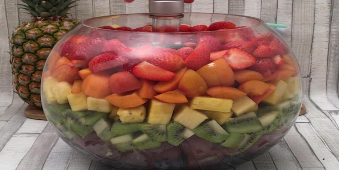 Sangria à la salade de fruits