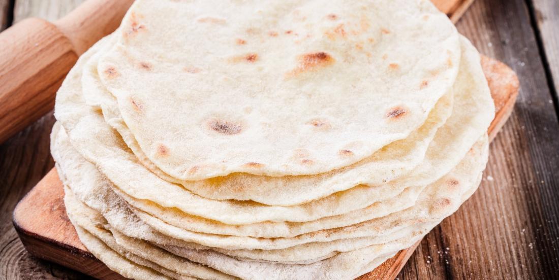 Faites vos propres tortillas facilement avec 5 ingrédients
