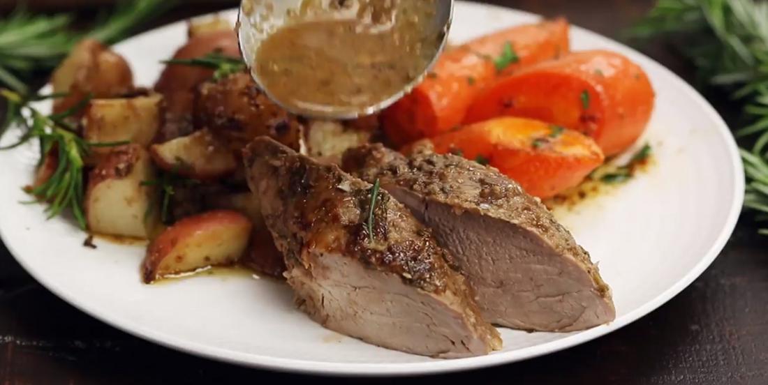 Filet de porc aux herbes et balsamique, un plat savoureux et si facile à faire