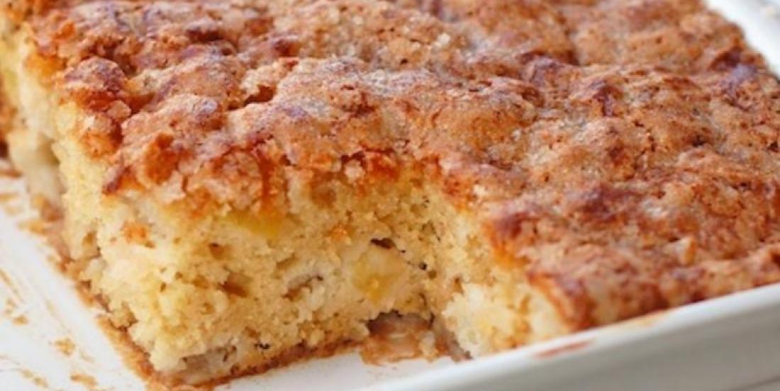 Gâteau aux pommes facile et rapide