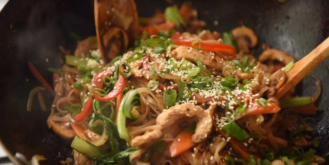 Sauté de poulet asiatique, un souper de semaine rapide, mais surtout très savoureux!