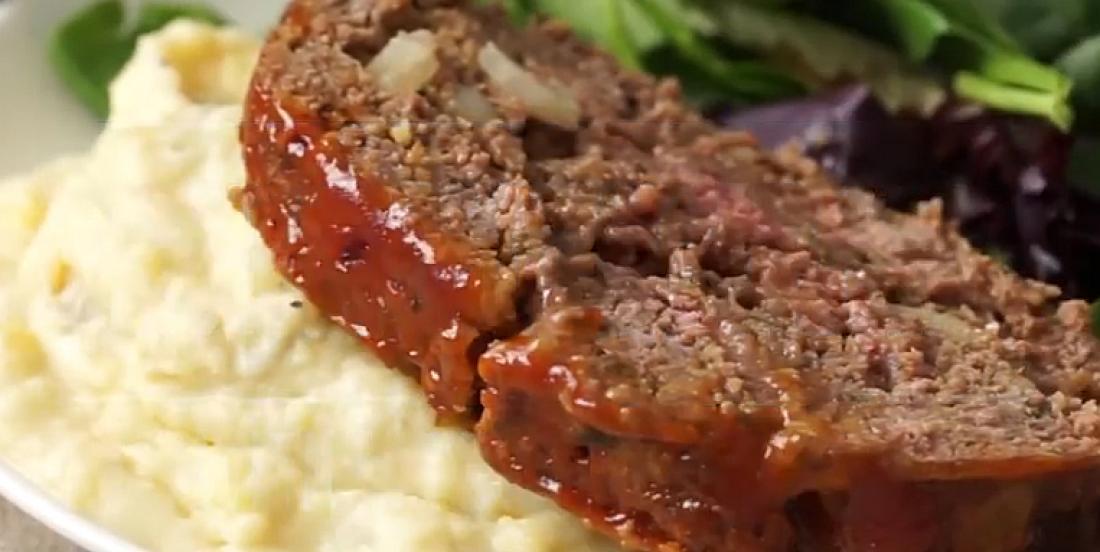 Pain de viande et purée de pommes de terre à l'autocuiseur