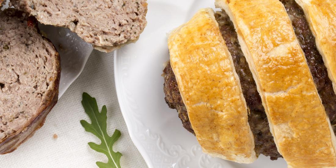 Savoureux pain de viande en croûte facile à faire