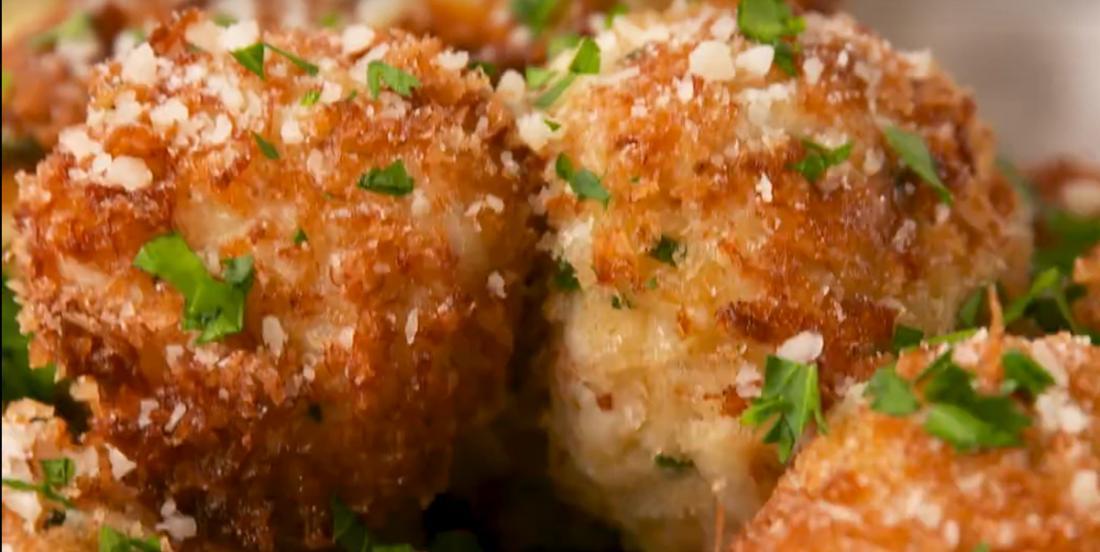 Bouchées de crabe façon fish and chips