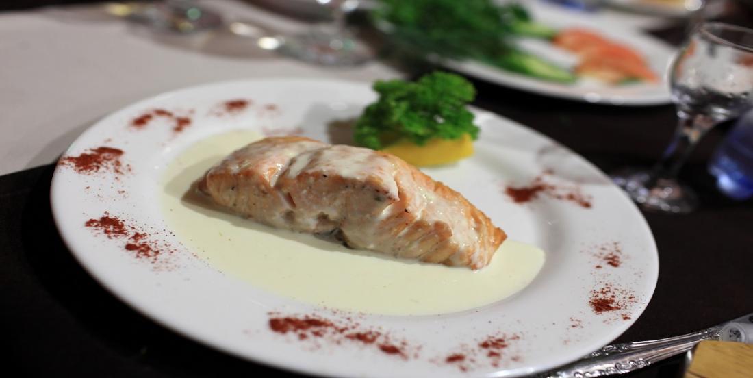 Une blanquette de saumon qui se prépare en quelques minutes