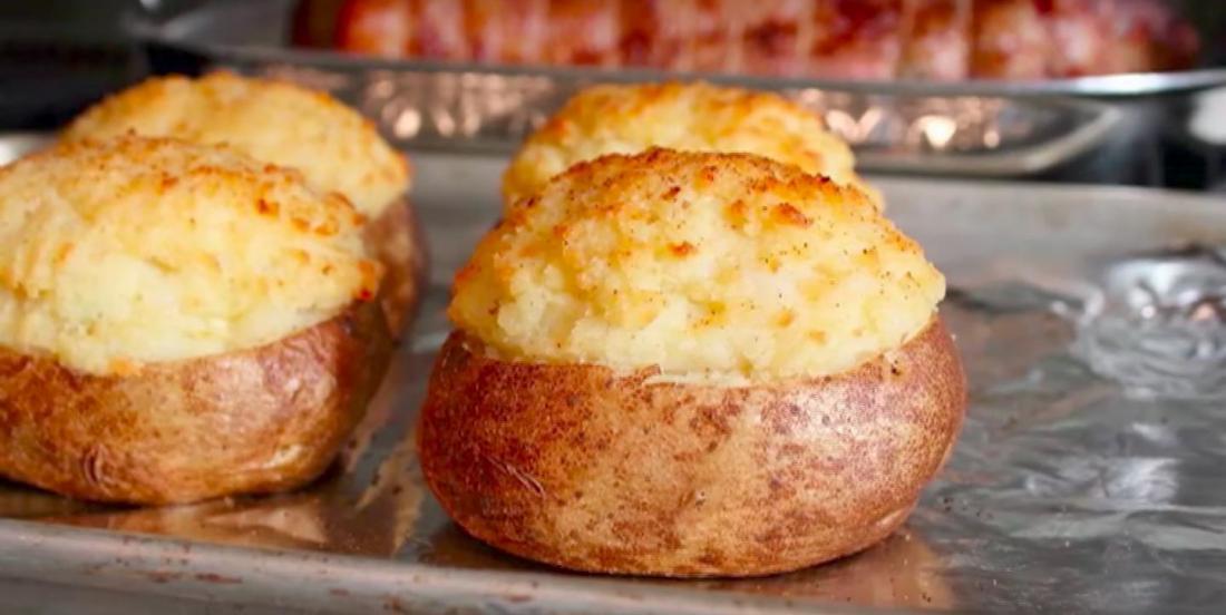 Pommes de terre apprêtées de façon gastronomique
