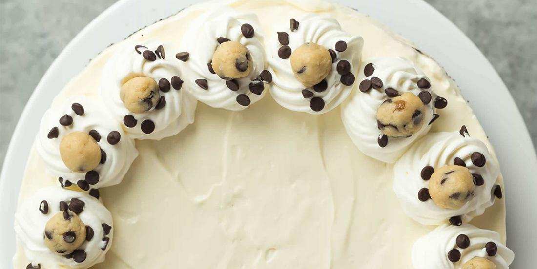 Succulent cheesecake à la pâte à biscuits