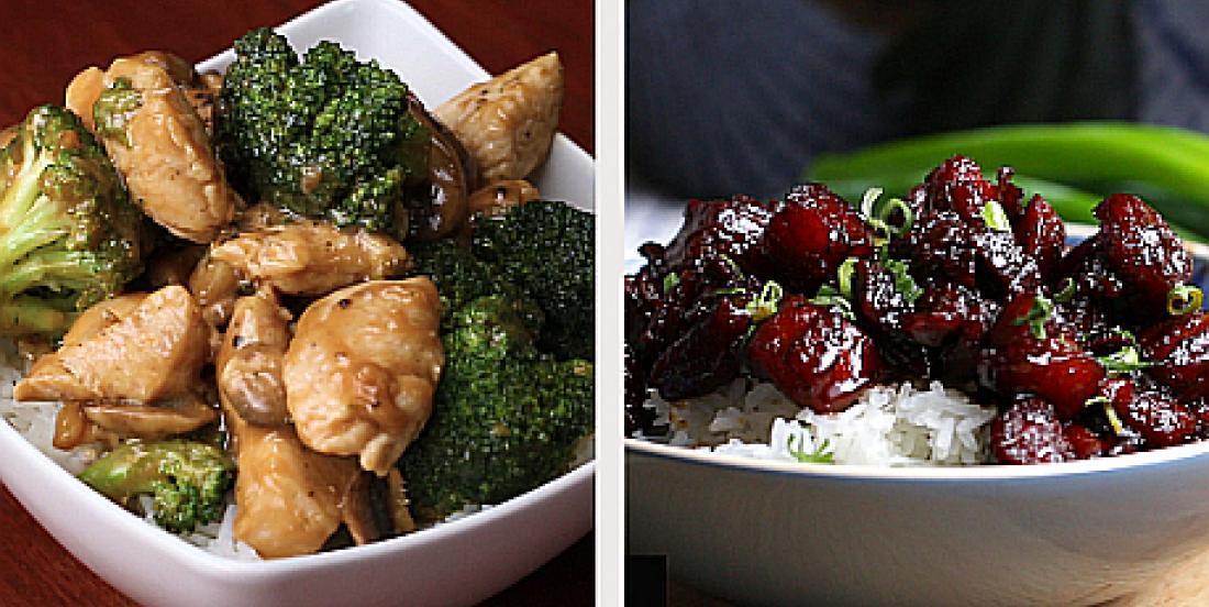 6 mets chinois cuisinés à la maison et aussi bons qu'au restaurant
