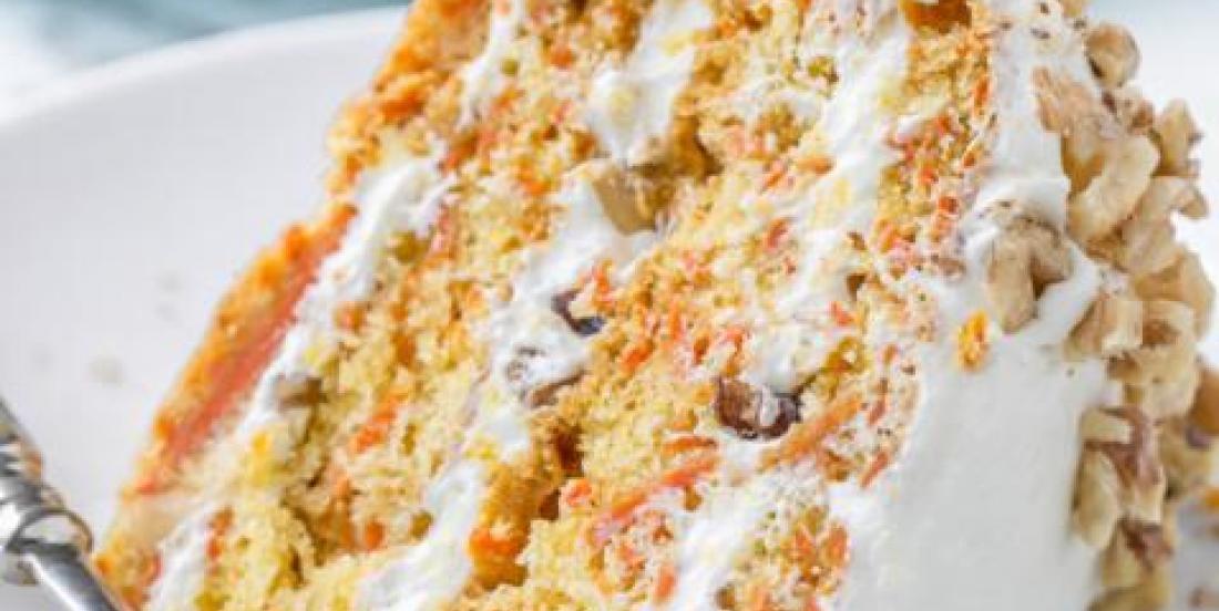 La recette classique du gâteau aux carottes