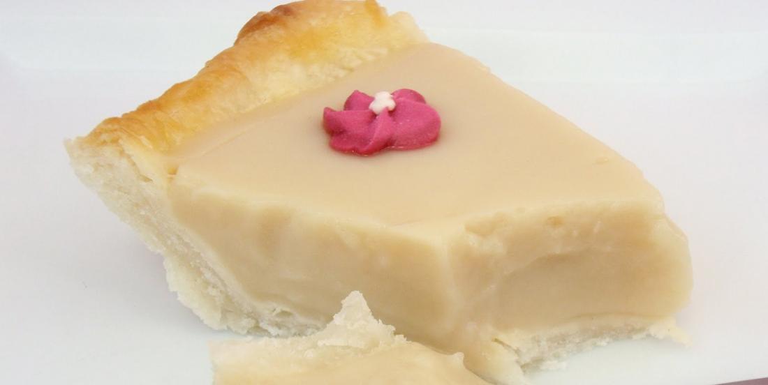 Tarte au caramel au beurre, un bon dessert, c'est le début du bonheur!