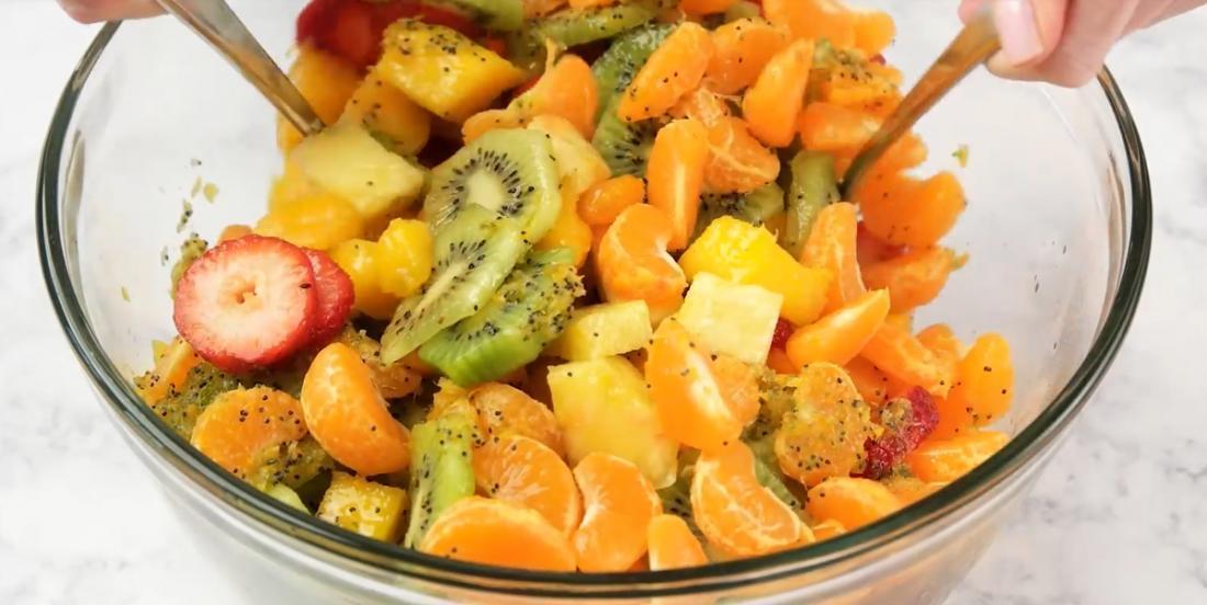 La meilleure recette de salade de fruits