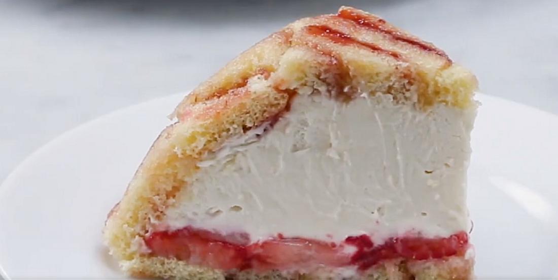 Le plus moelleux gâteau aux fraises