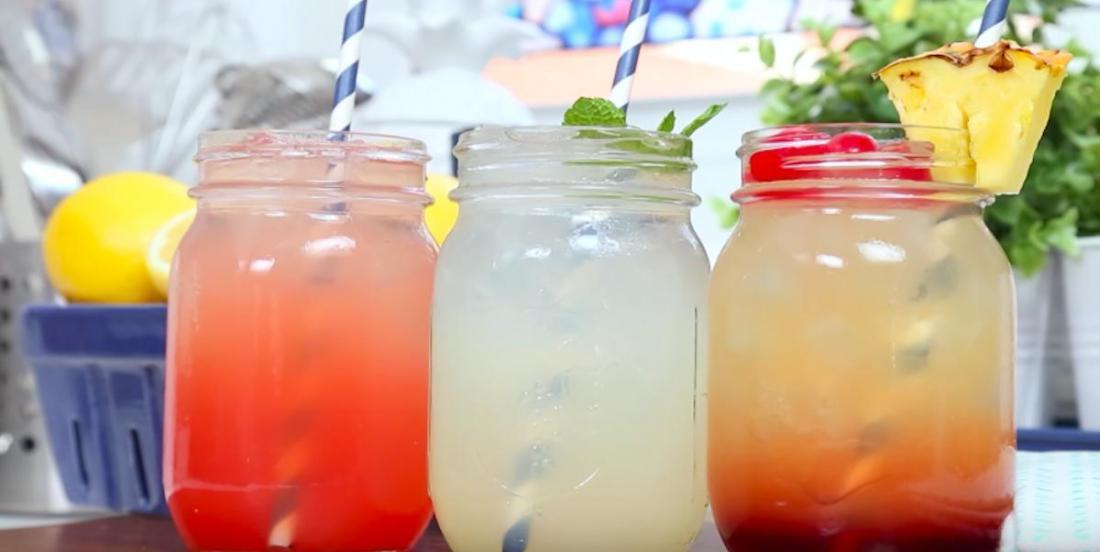 3 recettes maison de limonade aromatisée