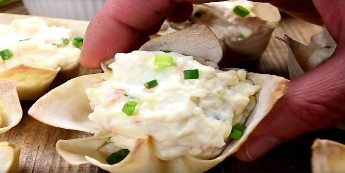Bouchées au crabe qui épateront la galerie