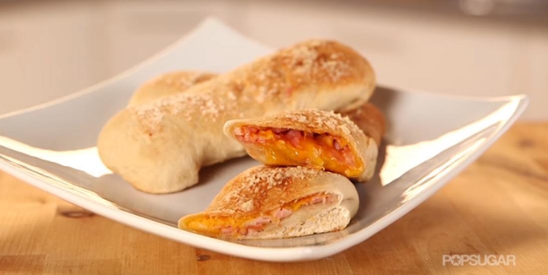 Ces délicieuces pizzas pochettes maison feront fureur dans les lunchs des enfants