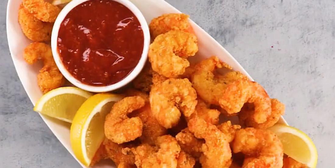 Crevettes piquantes avec panure maison