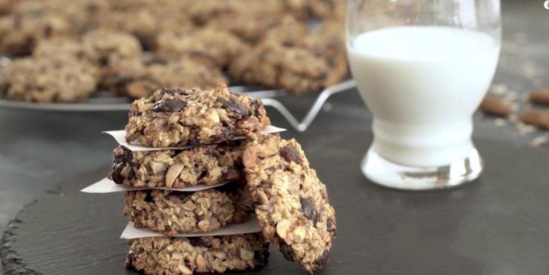 Biscuits déjeuner choco-bananes