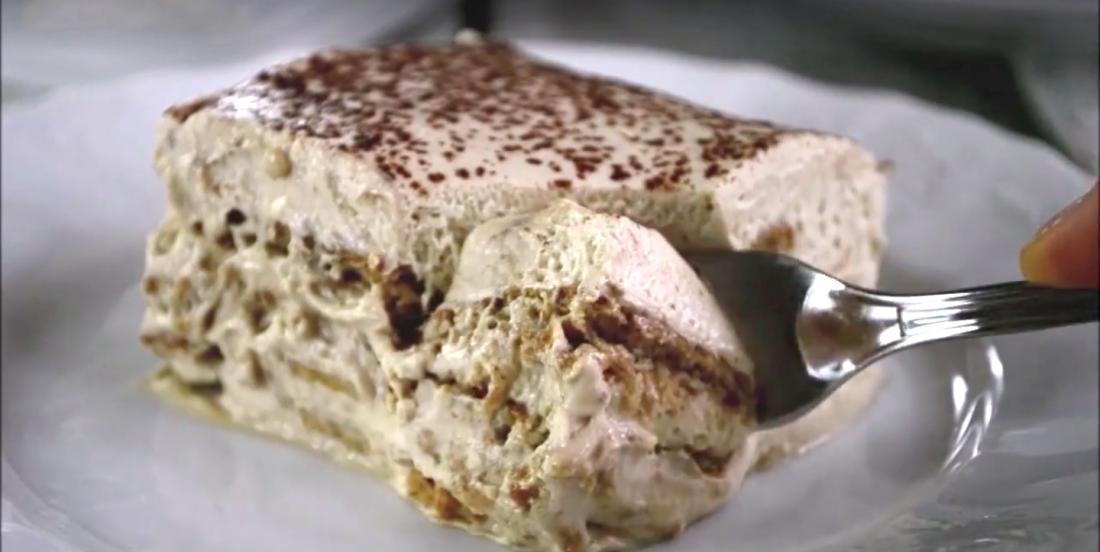 Gâteau cappuccino faible en gras et sans cuisson : le dessert parfait