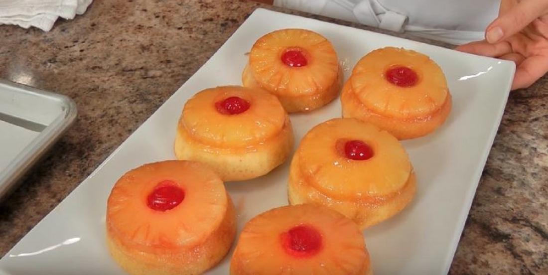 Gâteau renversé à l'ananas trop facile à réaliser