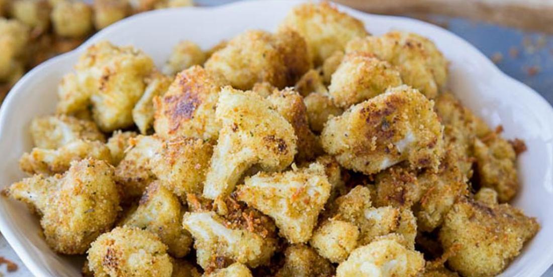 Chou-fleur grillé au parmesan
