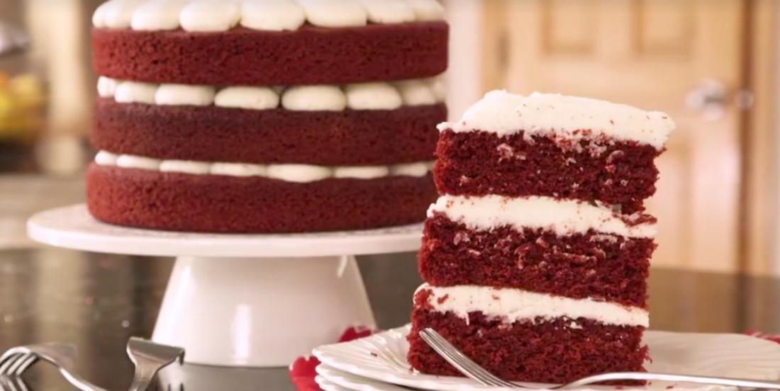Gâteau Red Velvet et son glaçage au fromage
