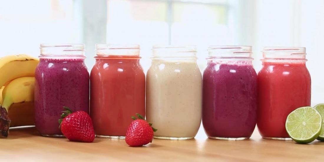 5 recettes de smoothies vitaminés et colorés