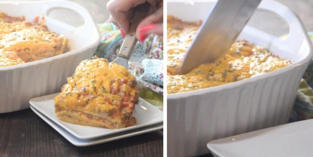 Lasagne façon taco prête en 30 minutes à peine