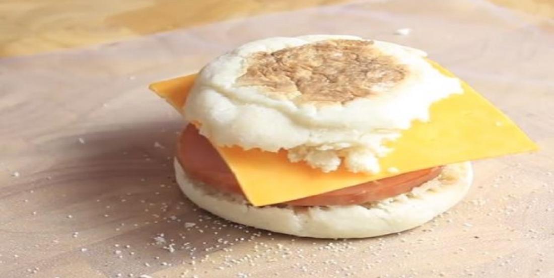 Sandwich style McMuffin qui peut se congeler