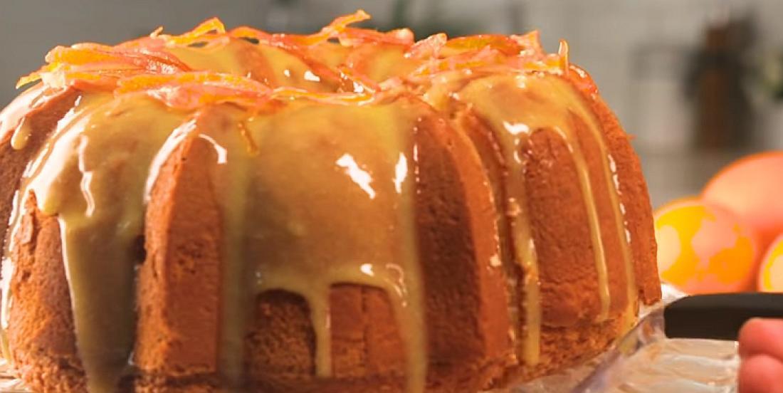 Gâteau glacé à l'orange digne des grands restaurants