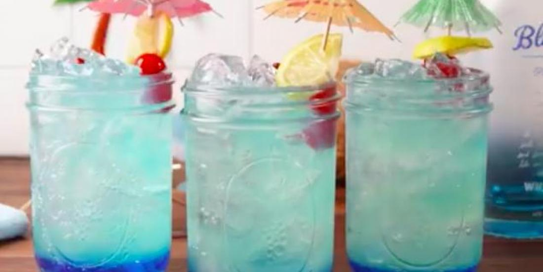 Limonade sirène pour adultes prête en seulement 10 minutes