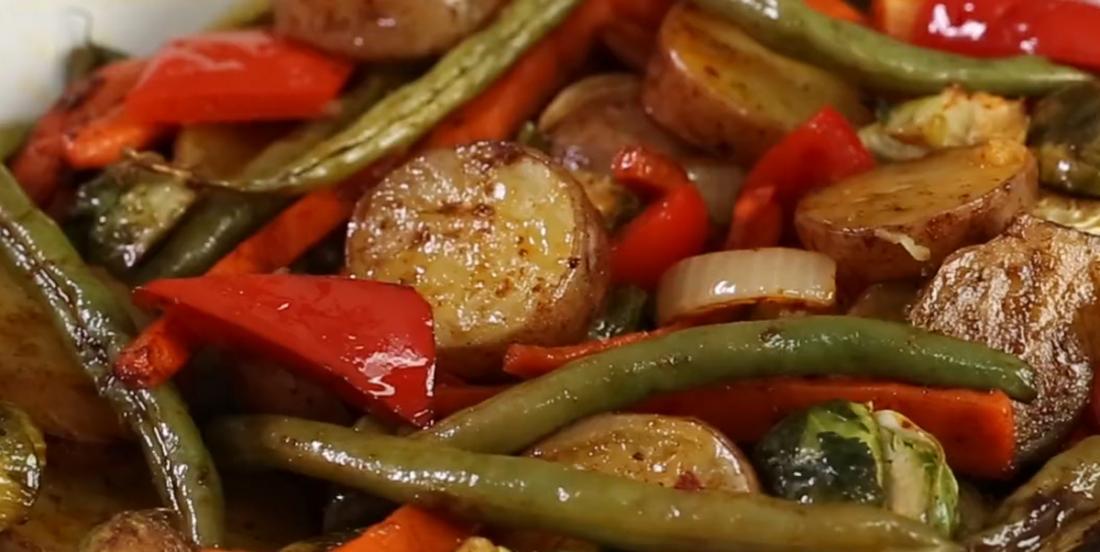 Légumes d'hiver grillés