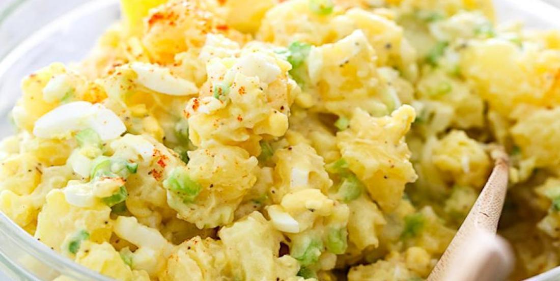 La meilleure salade de pommes de terre au monde