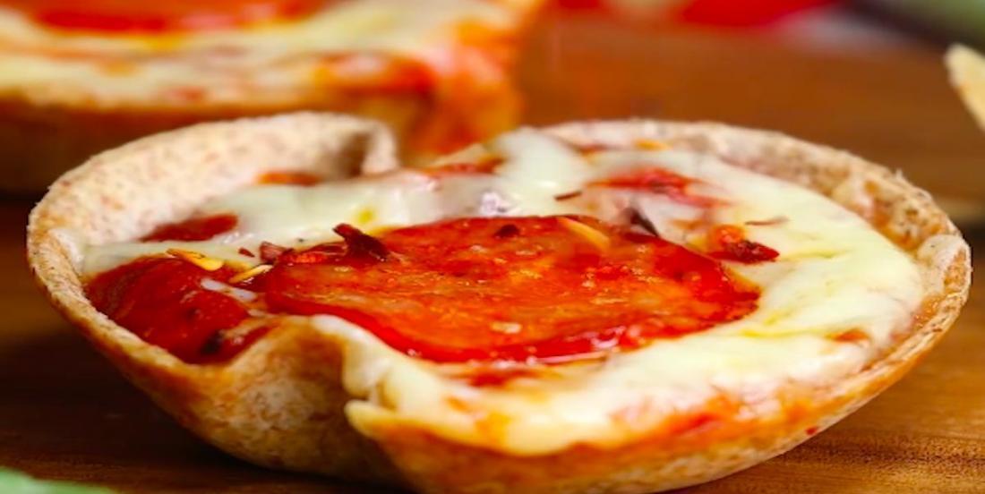 Mini-bouchées de pizza