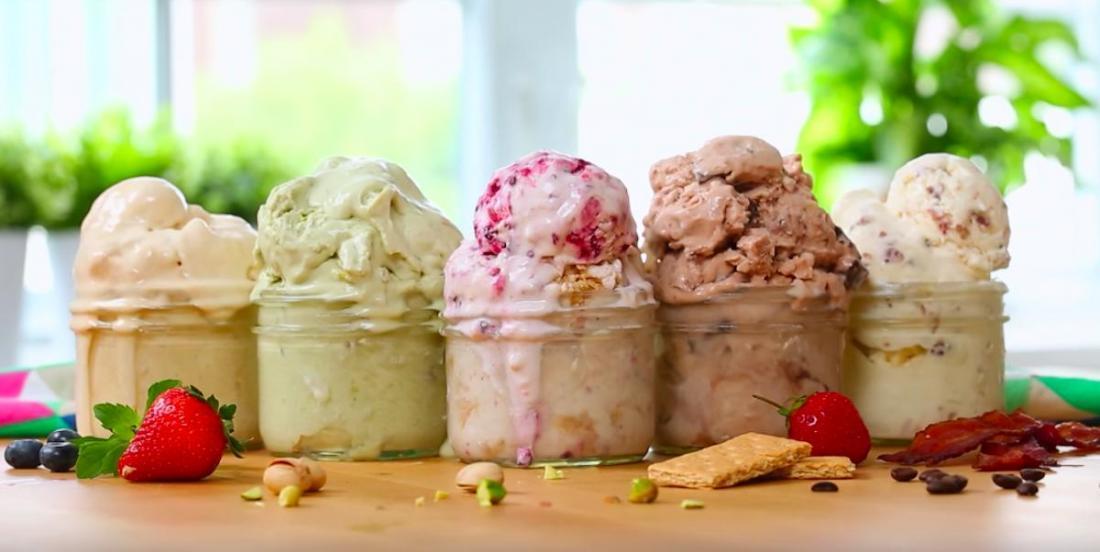 5 recettes de crème glacée maison