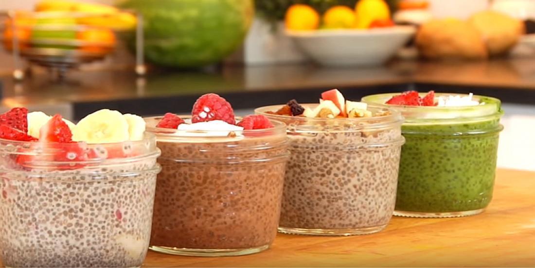 4 recettes de pouding aux graines de chia, à déguster au déjeuner ou en collation
