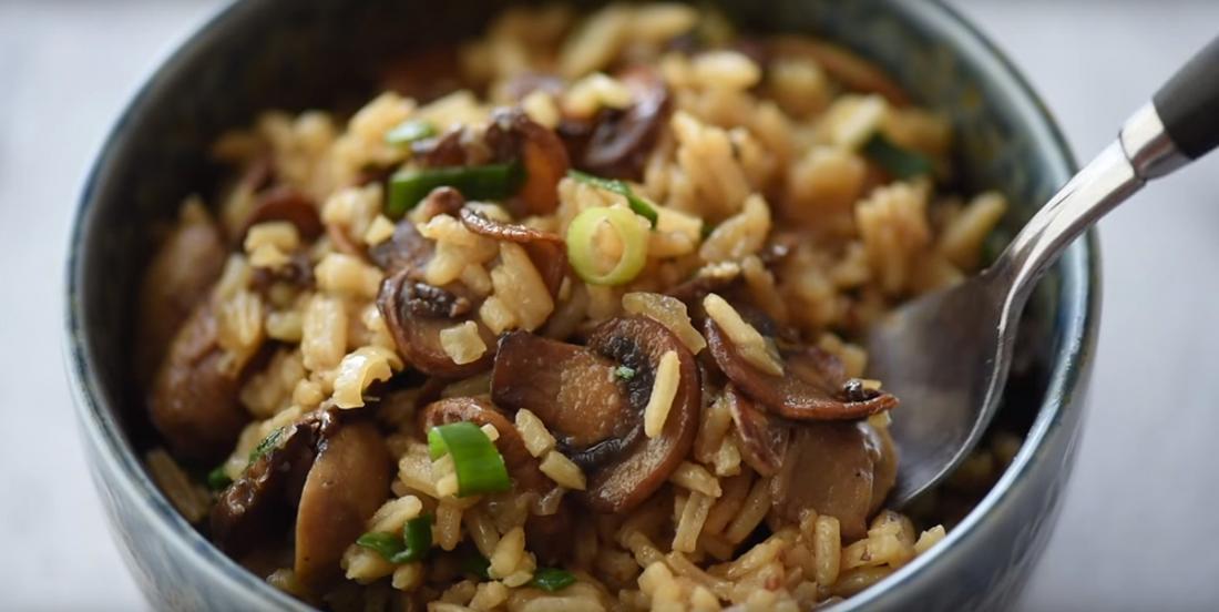 Un riz réservé qu'aux amateurs de champignons! On vous dévoile comment réussir le meilleur au monde!