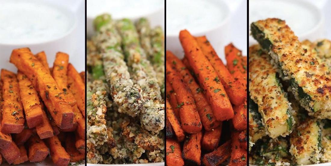 Frites de légumes : 4 façons