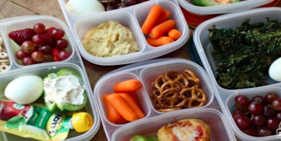 Retour à l'école: 5 idées de lunchs sans traces de noix