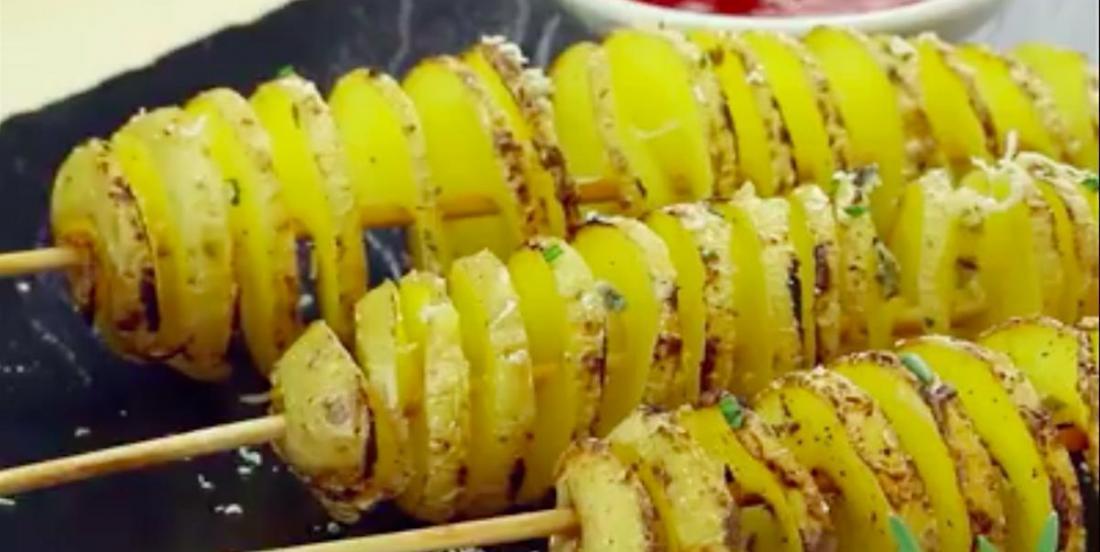 Apprenez à faire des spirales de pommes de terre en un tour de main!