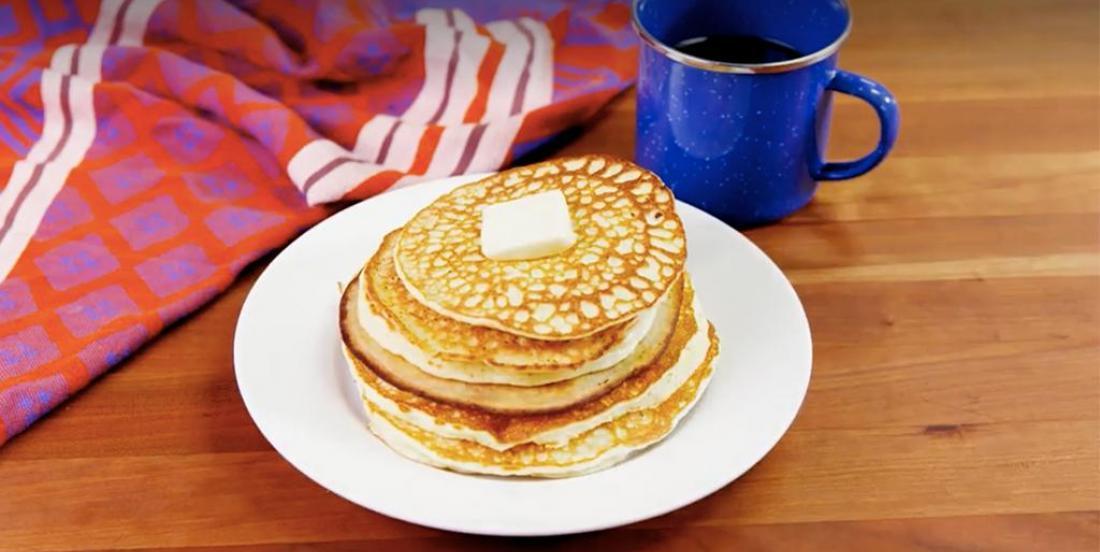 Recette de pancakes Keto