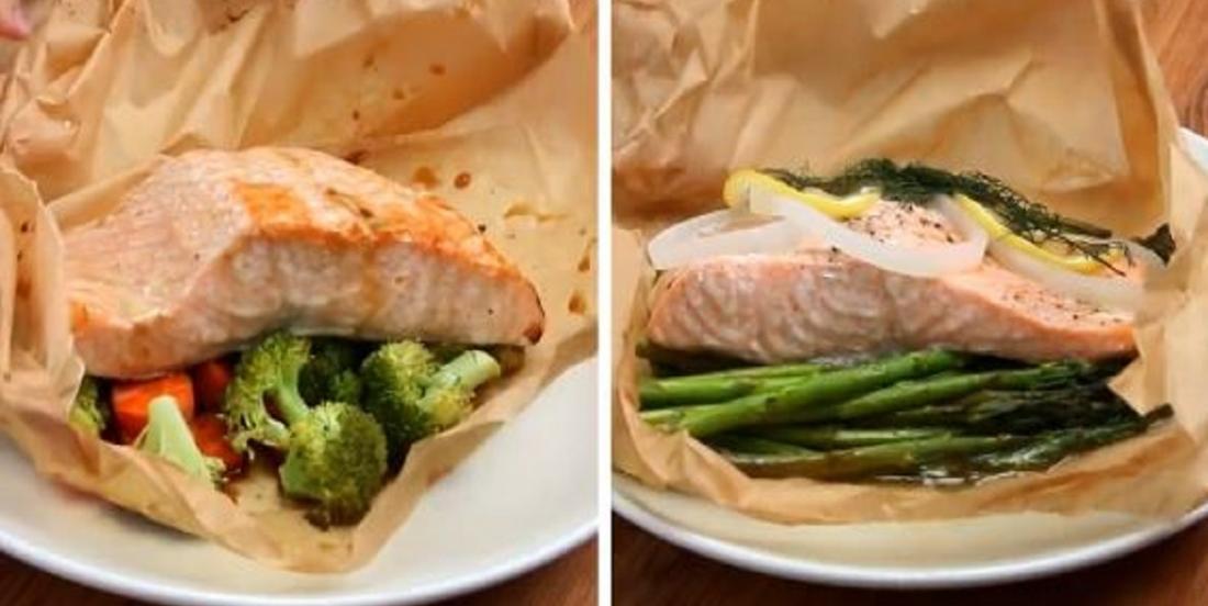 4 recettes de saumon en papillote prêtes en moins de 30 minutes