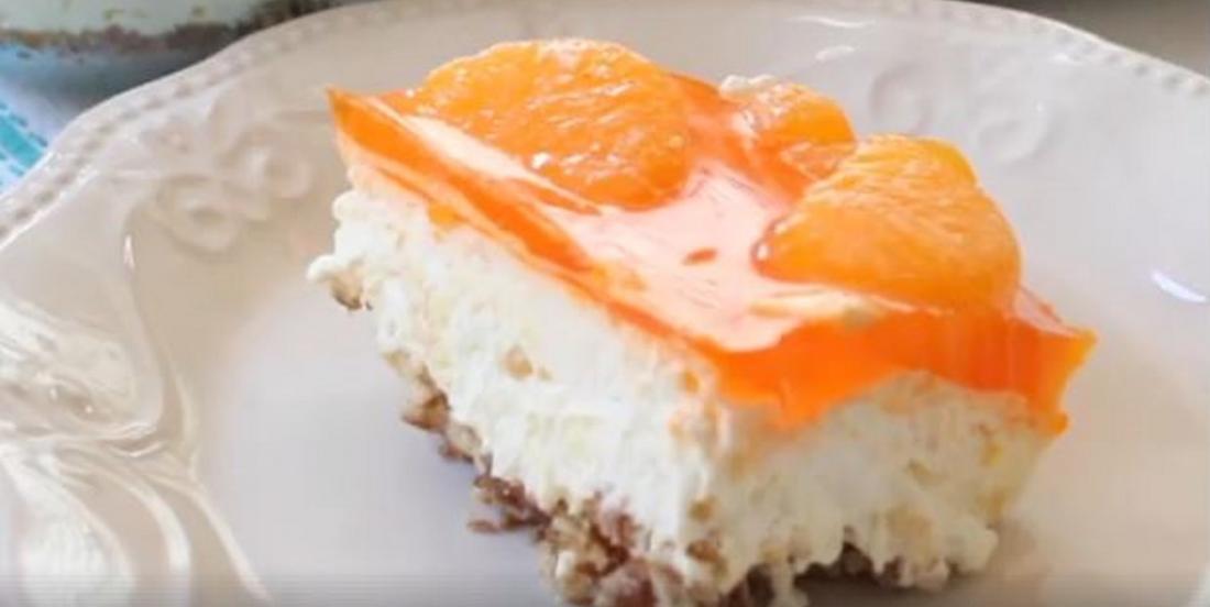 Gâteau frigidaire aux saveurs tropicales