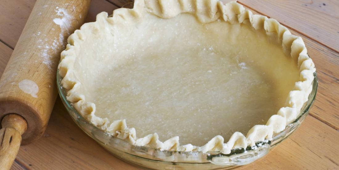 Avec seulement 5 ingrédients vous pouvez obtenir une croûte à tarte parfaite à tous les coups