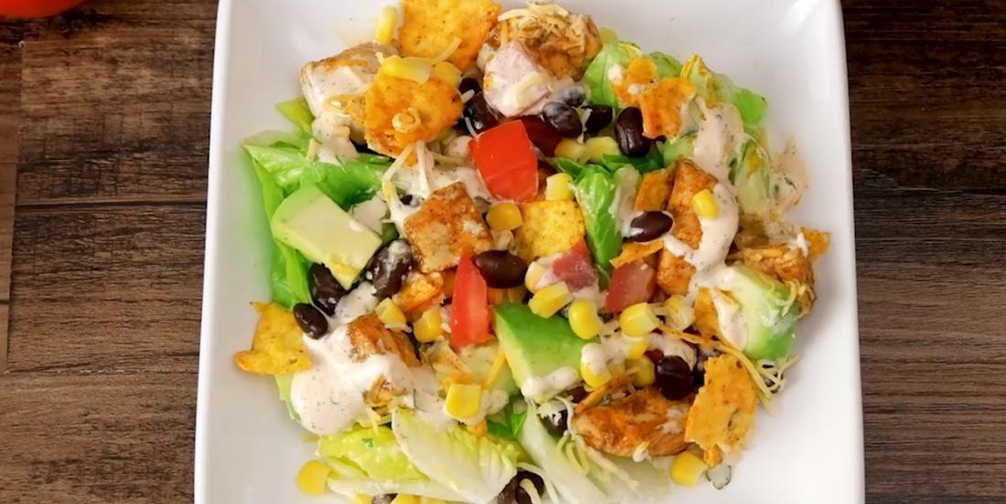 Salade mexicaine au poulet débordante de saveurs